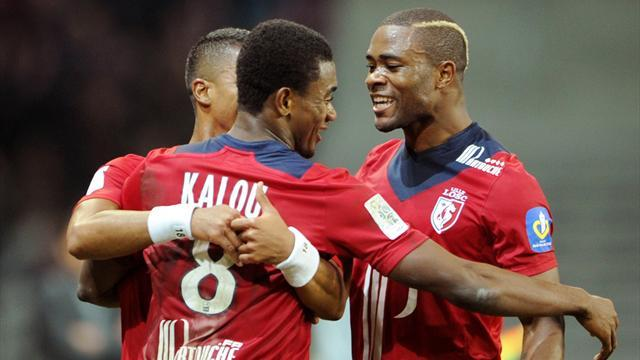 Ligue 1 - Kalou grabs winner as Lille hit back