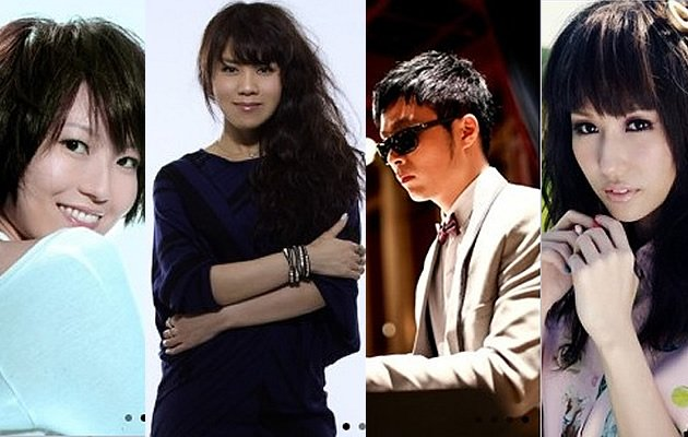 From left - Joi Chua, Tanya Chua, Kelvin Tan, and Kelly Poon will be performing (Photos courtesy of Esplanade)