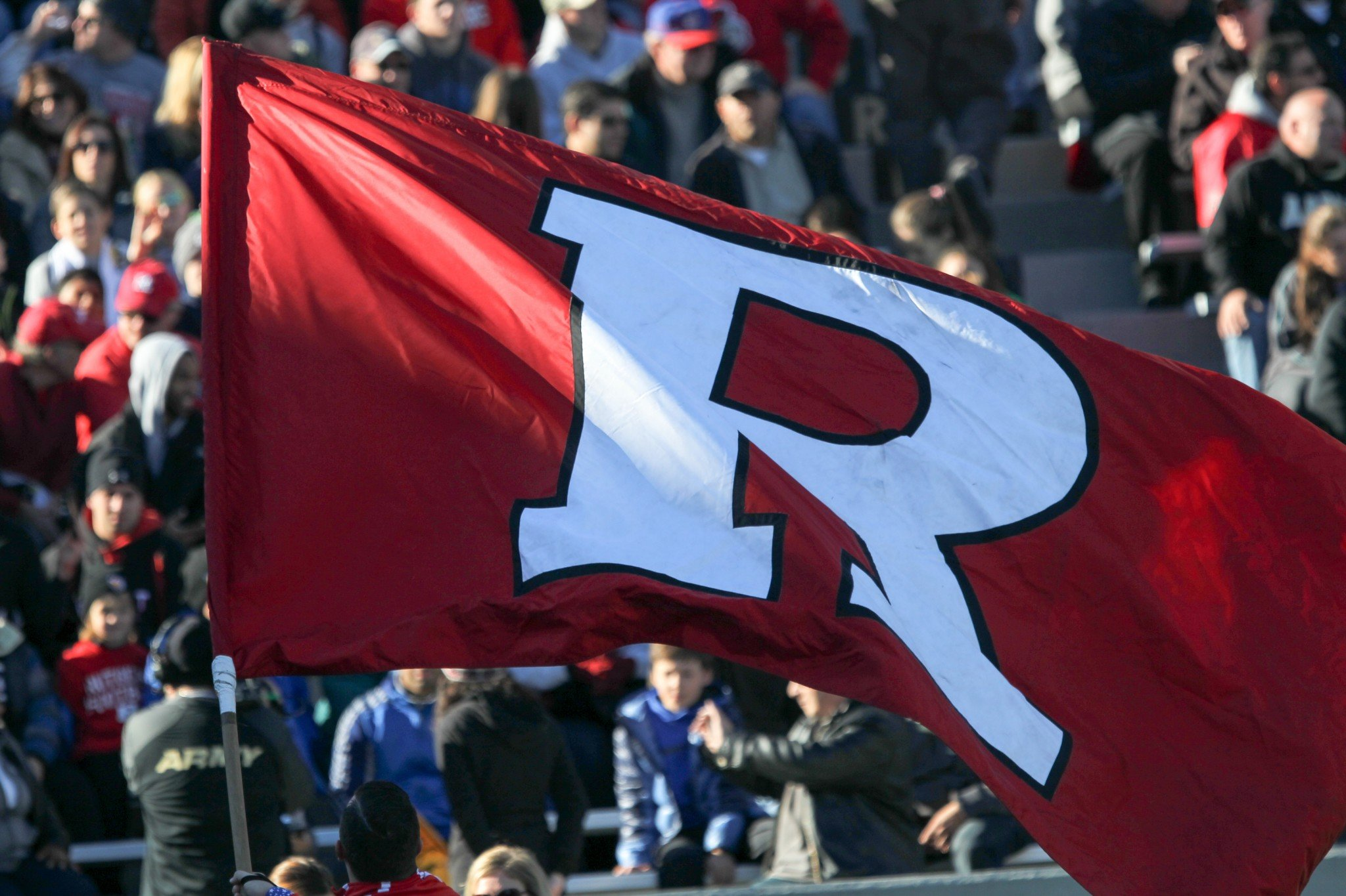 Rutgers is facing seven NCAA violations. (Photo by Charles Norfleet/Getty Images)