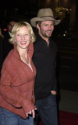 Anne Heche with boyfriend Coley at the Los Angeles premiere of Guy Ritchie 's Snatch (1/18/2001) Photo by Steve Granitz/WireImage.com