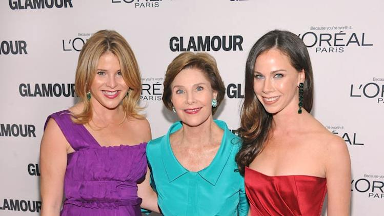 Jenna Laura Barbara Bush Glamour Women Of The Year Awards