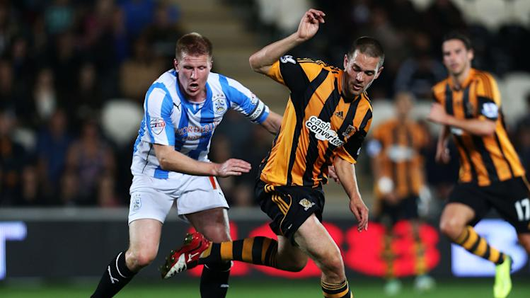 Soccer - Capital One Cup - Third Round - Hull City v Huddersfield Town - KC Stadium