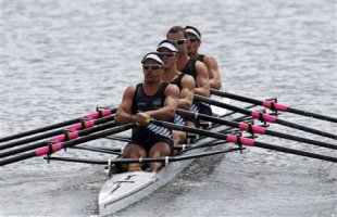 Olympic rowers experience extreme physical challenges in competition. (AP)