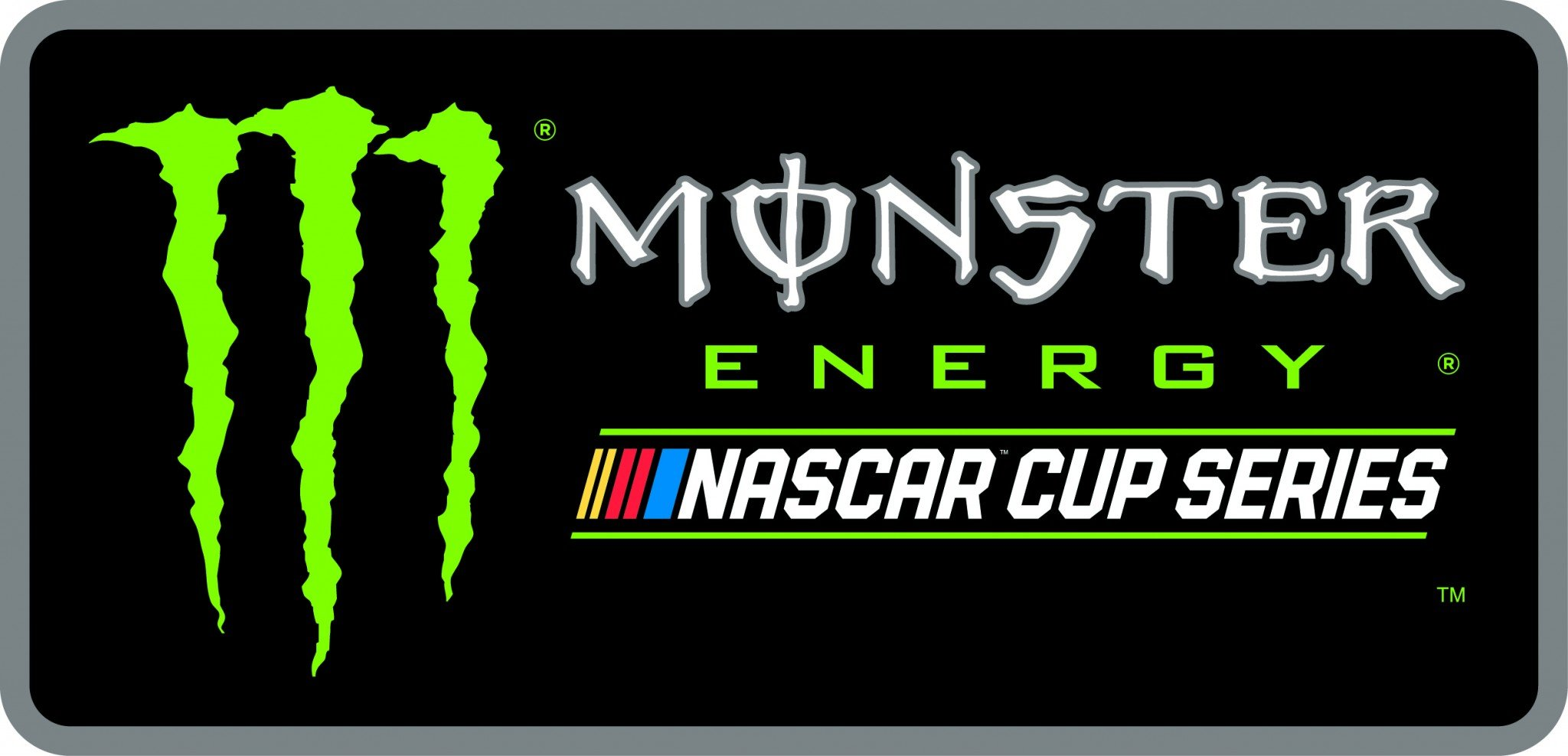 Here's the new NASCAR logo and official Cup Series name.