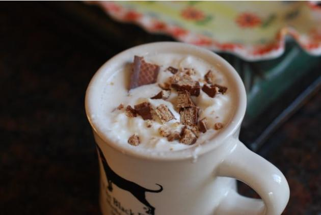 Halloween Candy Hot Chocolate