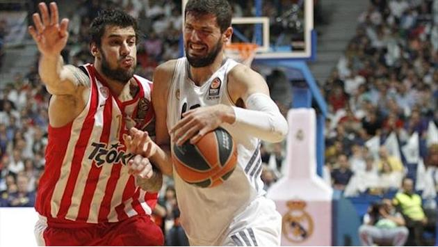 Euroleague - Olympiacos-Real Madrid: Con Carroll en la recámara (19:00)