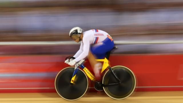 Cycling - Dmitriev triumphs in men's sprint