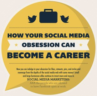 How Your Social Media Obsession Can Become A Career [Infographic] image SocialMediaObsessionExcerpt