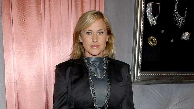 Patricia Arquette arrives at the 7th Annual Awards Season Diamond Fashion Show Preview.