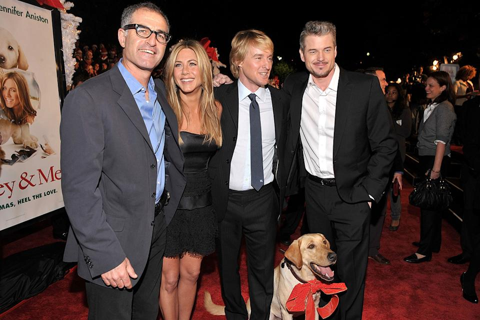Marley and Me LA Premiere 2008 David Frankel Jennifer Aniston Owen Wilson Eric Dane