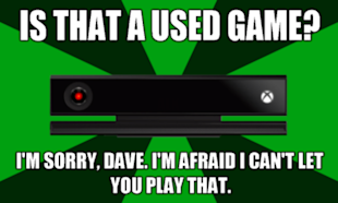 Sony Capitalizes on Microsoft's Xbox One Marketing Fail image usedgame