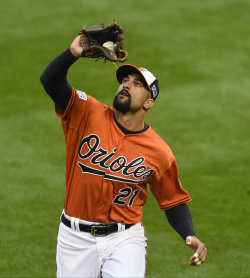 Nick Markakis is expected to replace Jason Heyward in right field. (USA TODAY)