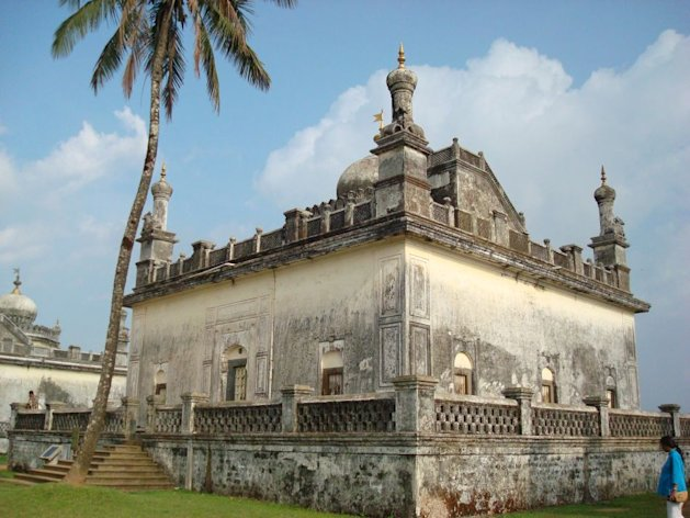 The tomb of the Haleri kings in Coorg