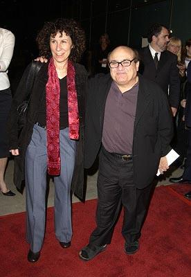 Premiere: Rhea Perlman and Danny DeVito at the Hollywood premiere of 20th Century Fox's Solaris - 11/19/2002