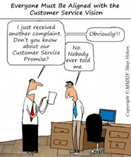 5 Reasons Companies Fail at Customer Service image Align Customer Service Vision