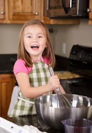 Kids love to help cook