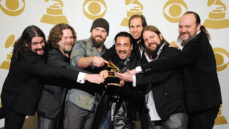 The 55th Annual GRAMMY Awards - Press Room: Zac Brown Band