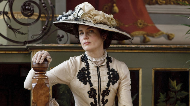 "Outstanding Lead Actress in a Drama Series: Elizabeth McGovern, ""Downton Abbey"""
