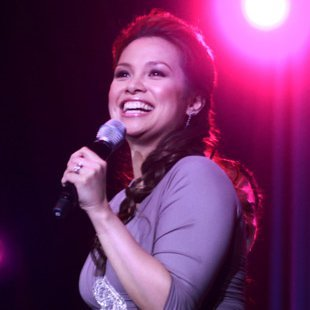 Lea Salonga: That's life. (NPPA Images)