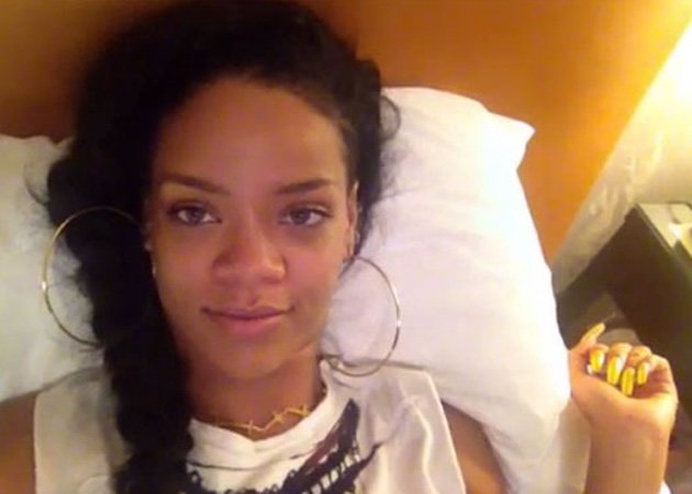 Rihanna, no make-up