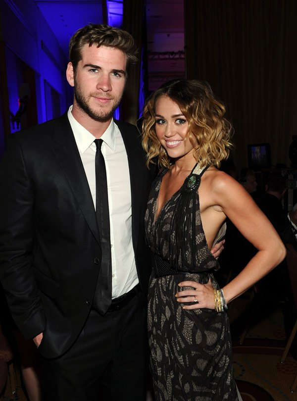 Miley Cyrus & Liam Hemsworth Engaged — Congrats