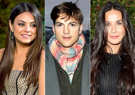 Ashton Kutcher: I Don't Talk About Mila Kunis Because of Demi Moore Fallout