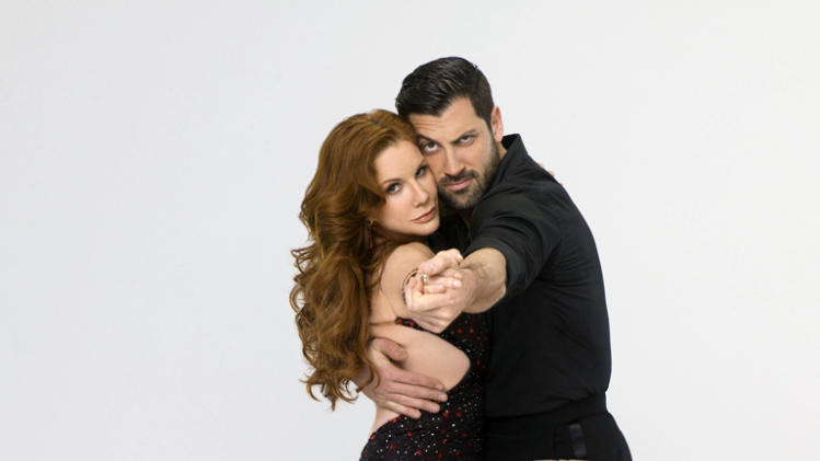 "Melissa Gilbert teams with professional dancer Maksim Chmerkovskiy on Season 14 of ""Dancing With the Stars."""