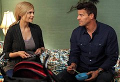 David Boreanaz, Emily Deschanel | Photo Credits: Beth Dubber/Fox