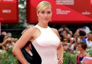 Kate Winslet premieres Mildred Pierce in Stella McCartney