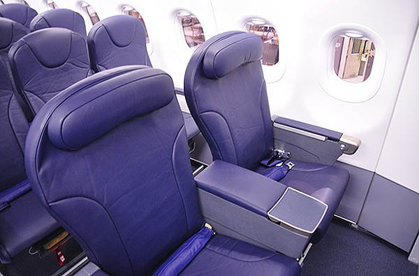 Best airlines for extra legroom in coach