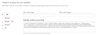 How to Get Started With We Heart It [Complete Guide] image Add the Heart It Button to Your Website and Blog and Get Started on We Heart It