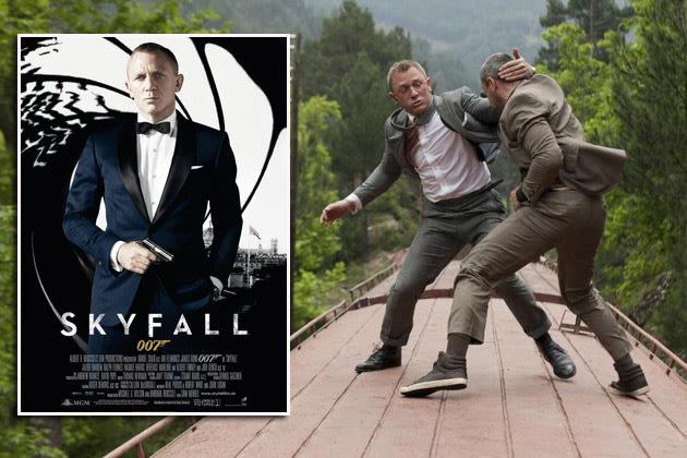 """Szene aus """"Skyfall"""": insgesamt 35 Fehler im Agententhriller mit Daniel Craig (Bilder: ddp Images)"""