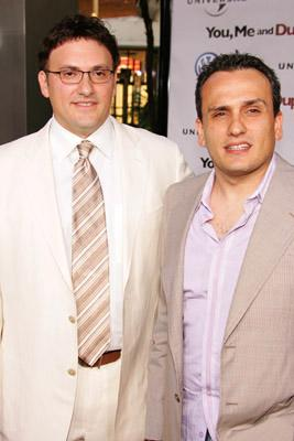 Anthony Russo and Joe Russo at the LA premiere of Universal's You, Me and Dupree