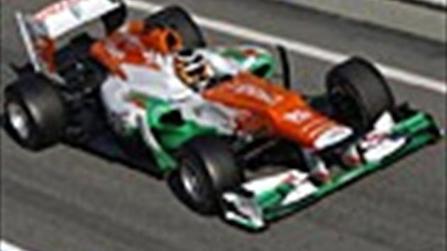 2012 Force India Team