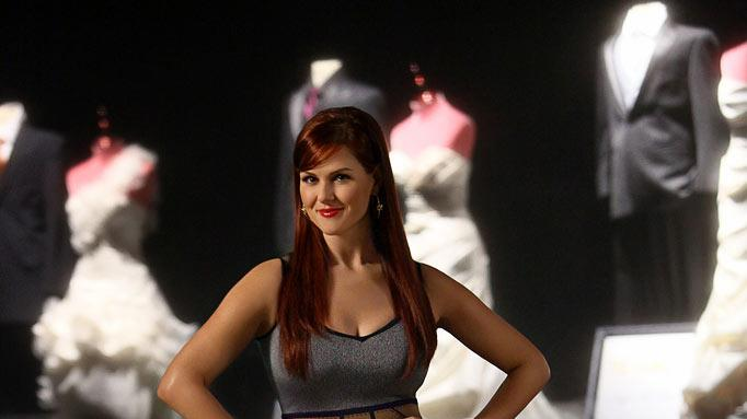 "Sara Rue hosts ""Shedding for the Wedding."""