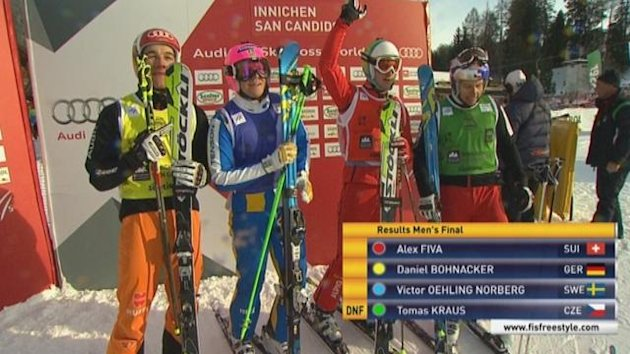 1223 Innichen: Final ski cross men