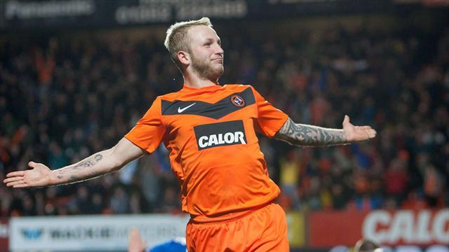 Football - Russell treble downs Killie