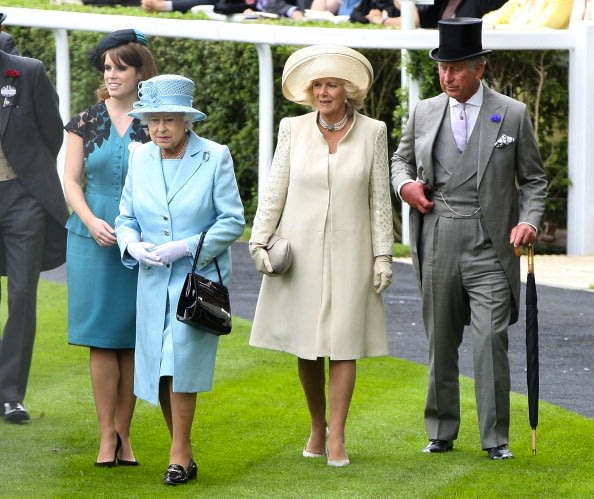 Members of the British Royal Family attend Ascot's opening day this year. Photo by Getty Images.