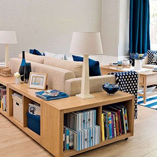 Easy Tips for an Organized Living Room
