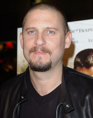 David Ayer , director at the Los Angeles premiere of MGM's Harsh Times