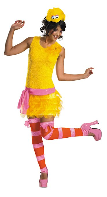 """Sassy Big Bird"" costume sales have jumped since Mitt Romney mentioned Big Bird in the U.S. debate. (costumecraze.com)"
