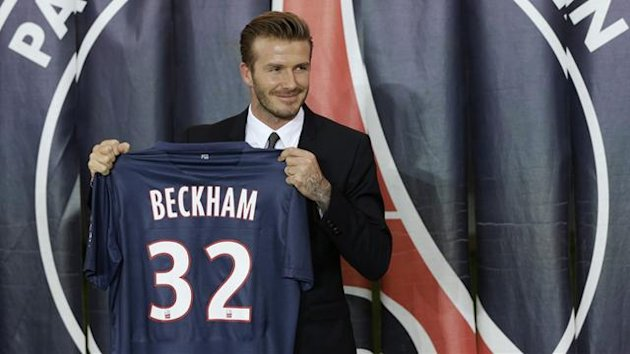 David Beckham Paris Saint-Germain 2013