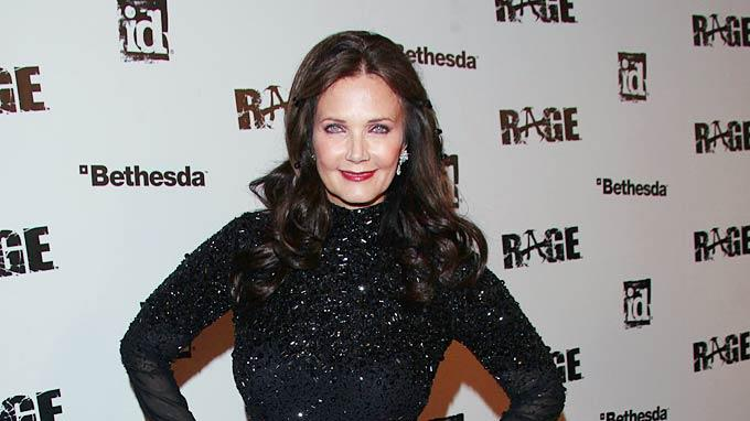 Lynda Carter RAGE Launch Prty