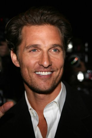 Sorry ladies, but Matthew McConaughey is officially off the market.