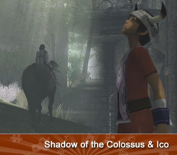 Ico/Shadow of the Colossus