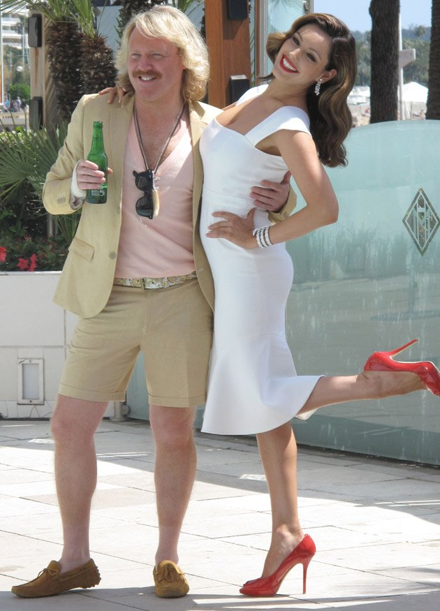 Keith Lemon Kelly Brook Cannes