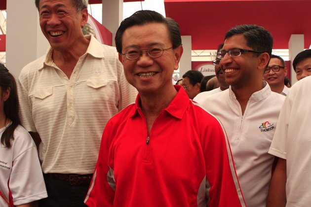 Former DPM Wong Kan Seng has become a special advisor to the government. (Yahoo! photo)