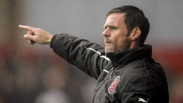 League Two - Fleetwood net semi-final spot