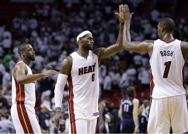 When Bosh steps up, Heat reap benefits