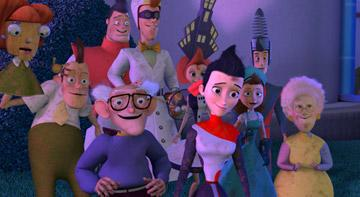 The Robinson family in Walt Disney Pictures' Meet the Robinsons